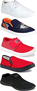 Shoefly Sports Running Shoes/Casual/Sneakers/Loafers Shoes for Men&Boys (Combo-(5)-1219-1221-1140-472-749)