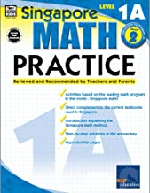 Singapore Math – Level 1A Math Practice Workbook for 1st, 2nd Grade Math, Paperback, Ages 7–8 with Answer Key PDF