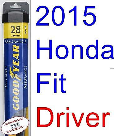 2015 Honda Fit Wiper Blade (Driver) (Goodyear Wiper Blades-Assurance)