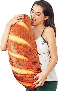 3D Simulation Bread Pillow Soft Lumbar Back Cushion Cute...