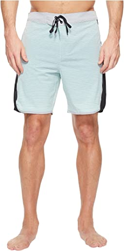 "Hurley Phantom Motion Stripe 19"" Boardshorts"