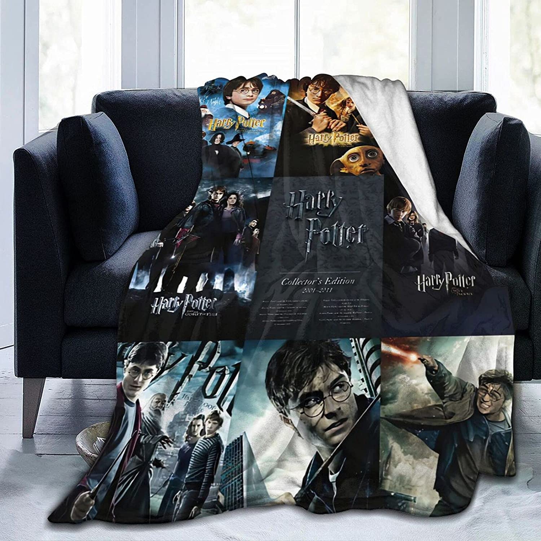 Harry Magic Credence Potter Superlatite Fleece Blanket Micro Ultra-Soft Blankets for