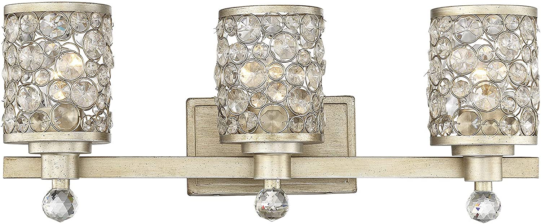 Savoy House 8-7015-3-100 Guilford Light 3-Light Bathroom Nippon regular agency Bargain sale Vanity