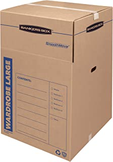 massive cardboard box