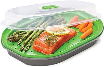 Progressive International Fish/Veggie Steamer, Gray