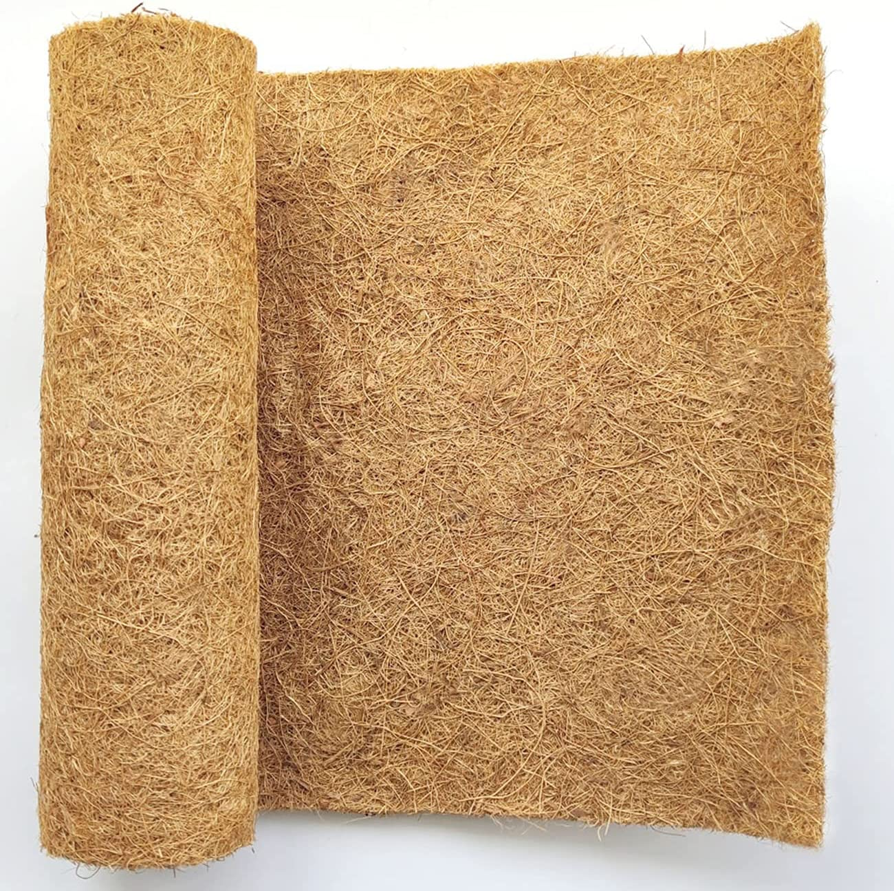 SUNYAY 15x80 inch Natural Coconut Coir Cheap mail order shopping Coco R Fiber Liner Sheets favorite