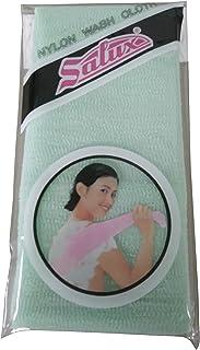 SALUX Nylon Japanese Beauty Skin Bath Wash Cloth/Towel - Green