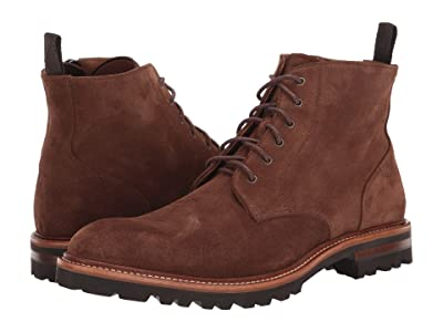 Aquatalia Leaston (Chestnut Suede) Men