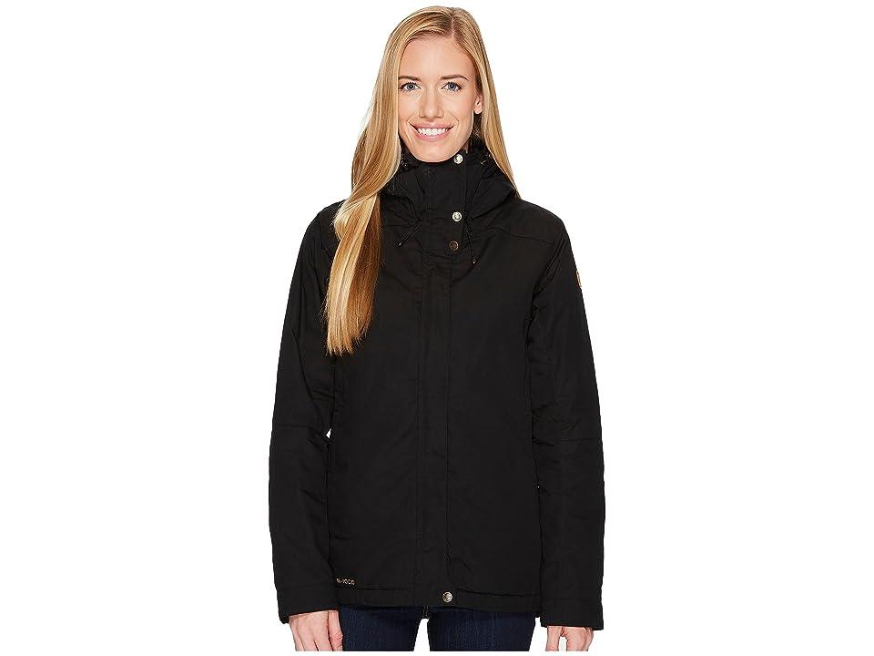 Fjallraven Skogso Padded Jacket (Black) Women