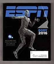 ESPN Body 2016 - Elena Delle Donne Nude Bonus Cover (1 of 8 variant covers). Michael Phelps, Simone Biles, David Ortiz, Von Miller, Christen Press, April Ross, Claressa Shields, Dwyane Wade