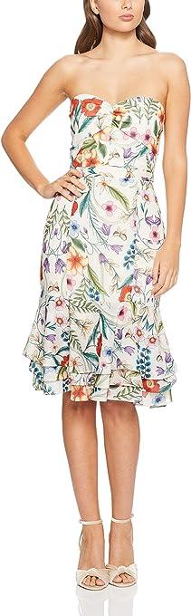 Cooper St Women's Gardenia Vintage Strapless Midi Dress