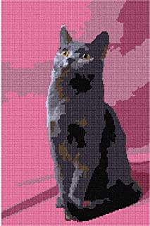 pepita Chartreux Needlepoint Canvas