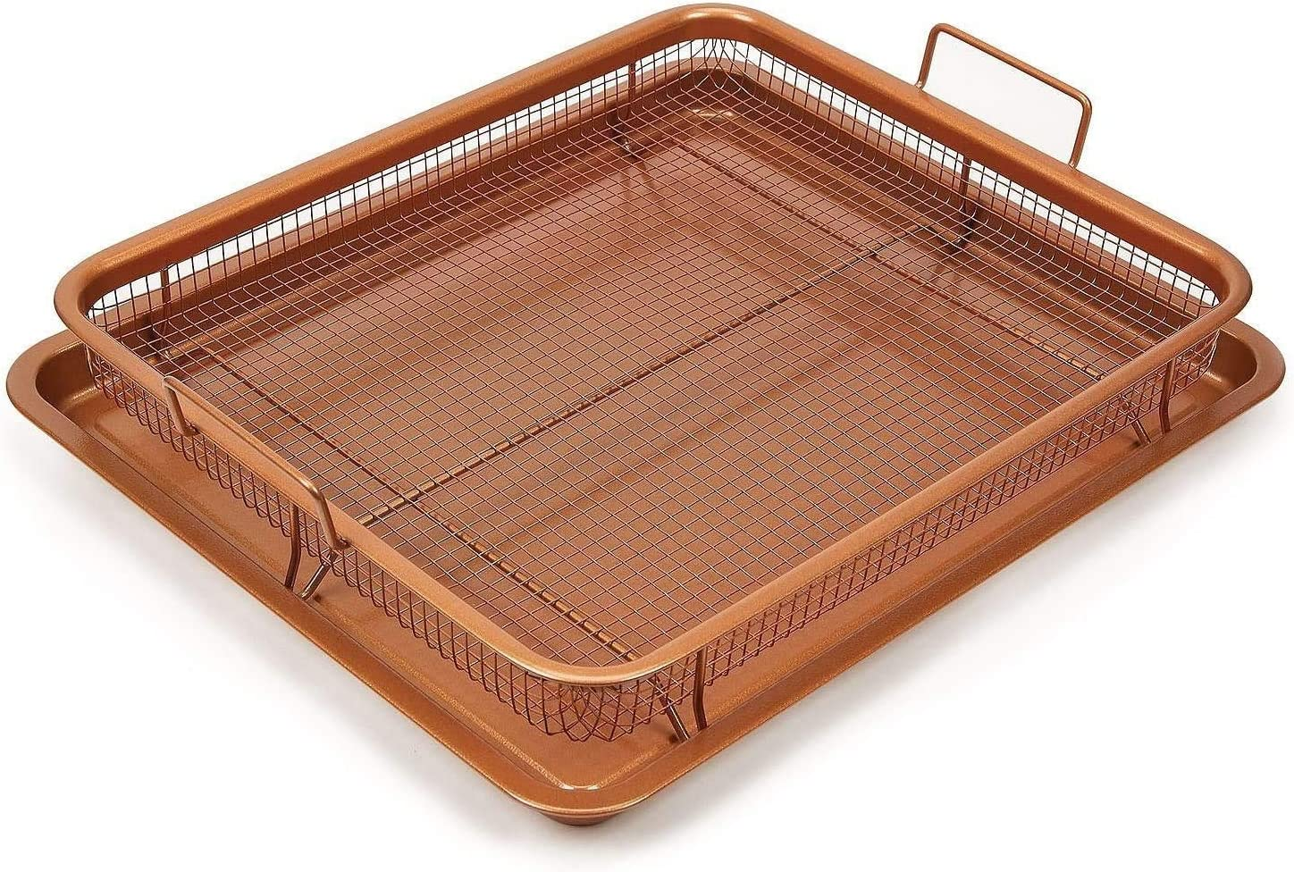 Safety and trust Copper Crisper 25% OFF Oven Tray