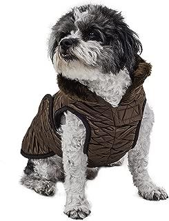 Scooter's Friends Golden Toffee Waterproof Dog Coat, Size 16, Golden Brown