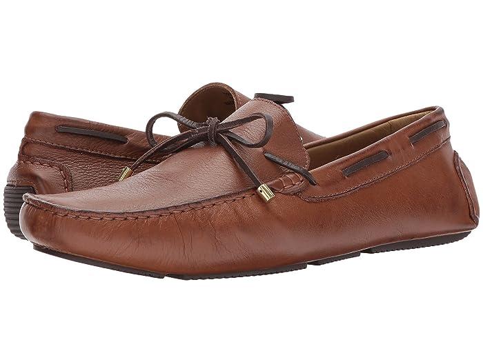 Massimo Matteo  Lace Driver 17 (Bronze) Mens Slip-on Dress Shoes