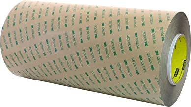 One roll 12 inches Wide x 60 Yards Long of 3M 9472LE 300LSE Super-Strong Adhesive Transfer Tape. [9472-roll-12]
