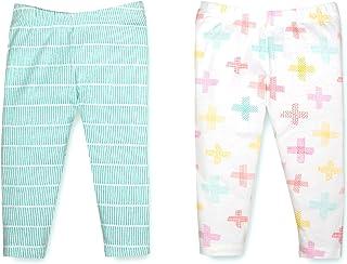 Lamaze Baby-Girls Organic 2 Pack Pants Pants