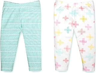 Lamaze Organic Baby Baby Girls Organic 2 Pack Pants