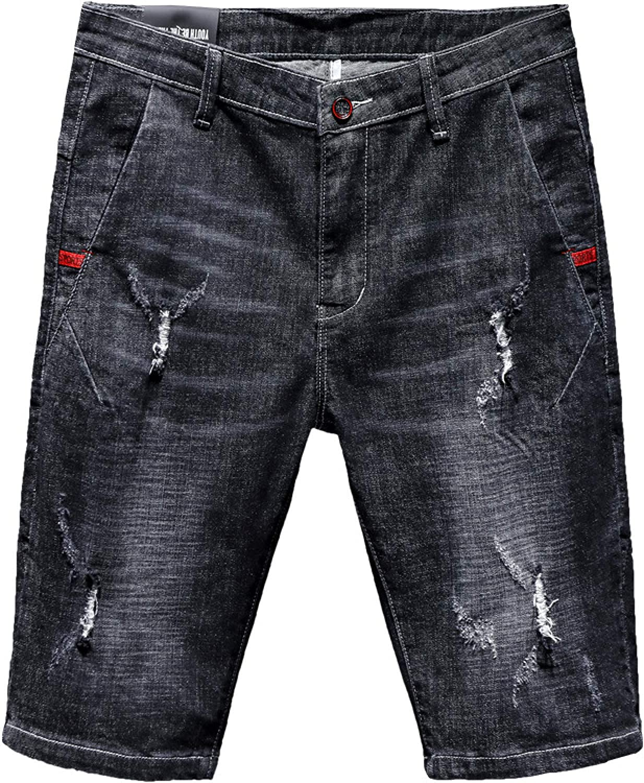 Generico Free shipping / New Men's Denim Summer Thin Straight C Solid Fit Slim Cheap bargain Loose