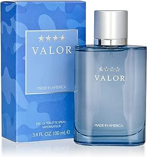 Valor by Dana 3.4 oz Eau De Toilette Spray for Men