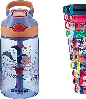 Contigo Gizmo Flip Autospout Kids Water Bottle with Flip Straw, BPA Free Drinks Bottle for Children, Leakproof Flask, Idea...