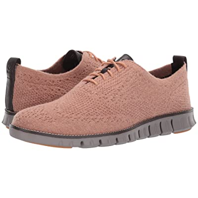 Cole Haan Zerogrand Stitchlite Wool Oxford (Camel Wool/Ironstone) Men