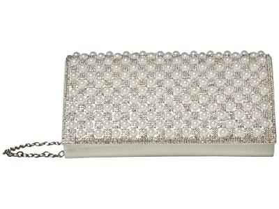 Jessica McClintock Chloe (White) Clutch Handbags