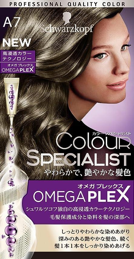 最大化するグリーンバック予知シュワルツコフ カラースペシャリスト 白髪染め A7 やや明るめのアッシュブラウン