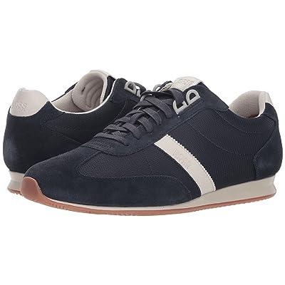 BOSS Hugo Boss Orlando Low Profile Sneaker by BOSS Green (Dark Blue) Men