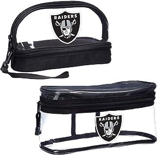 """NFL Las Vegas Raiders 2-Piece Travel Set, 10.75"""" x 4.5"""" x 5.5"""""""