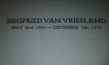 Siegfried Van Riesland May 2nd 1886 - December 4th 1939 - צדוק ון וריסלנד ליום השנה