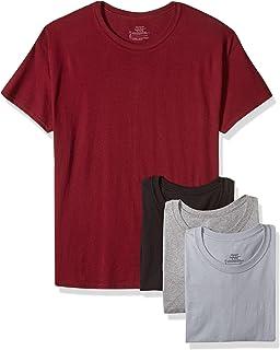 Hanes Men's 2165A4ASTL 4 T-Shirts, Multicolour (Assorted)