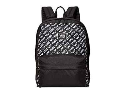 Vans Realm Classic Backpack (Black/Brand Striper) Backpack Bags