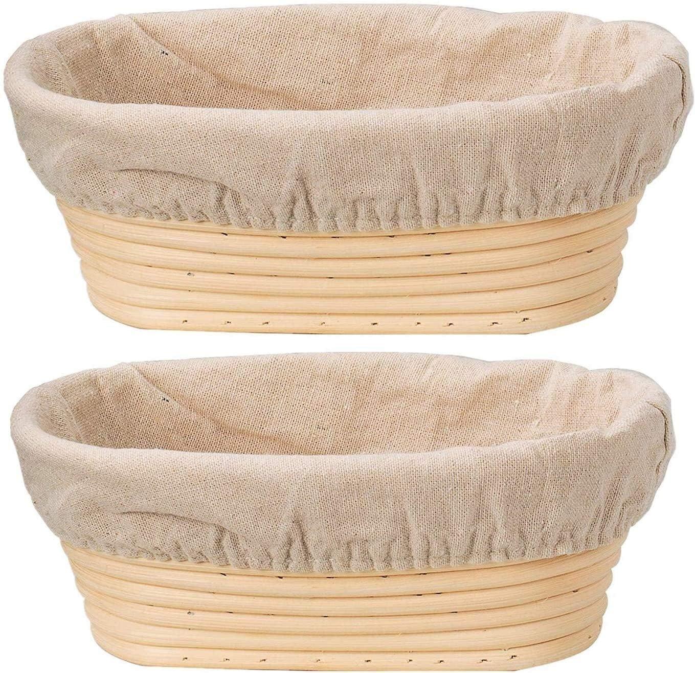 Hailiang Bread Ranking TOP19 Proofing Max 81% OFF Basket Dough Rising Bas Rattan