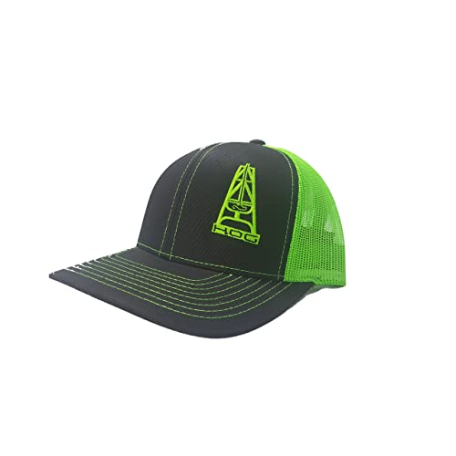 536a2bf07f5 Richardson 3D Puff Hooey Hog Oil Field Hat Cap Snapback Adjustable Adult  Unisex