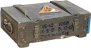 RG-42 Petite boîte à munitions Épaisseur de paroi supérieure à 1cm Dimensions env. 48x 31x 16cm Dimensions intérieures...