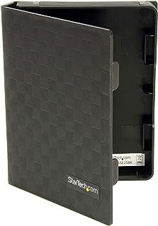 StarTech.com 2.5-Inch Anti-Static Hard Drive Protector Case - 3 Pack - HDDCASE25BK (Black)