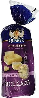 Quaker, Rice Cakes, White Cheddar, 5.5oz Bag (Pack of 4)