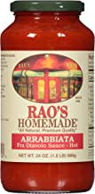 Rao's Homemade Arrabbiata Sauce, 24 Oz Jar, Pack of 3, Classic, Spicy Italian Tomato Sauce with Crushed Red Peppers, Great on Pasta or Pizza, Made With Italian Tomatoes, No Sugar Added