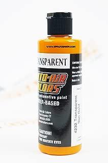 Createx Auto-Air Colors 4oz Transparent Sun Gold 4232 Custom Airbrush Paint. by SprayGunner