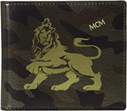 Munich Lion Camo Flap Wallet/Two-Fold Small