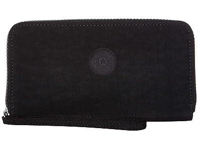 Kipling Imali RFID Wristlet Wallet (True Black) Handbags