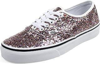 Vans - Unisex-Adult Authentic Shoes, Size: 3.5 D(M) US Mens/5 B(M) US Womens, Color: (Chunky Glitter) True White
