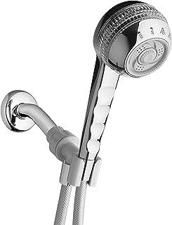 Waterpik SM-453CG Original 4-Mode Massage Handheld Shower, Chrome/Crystal