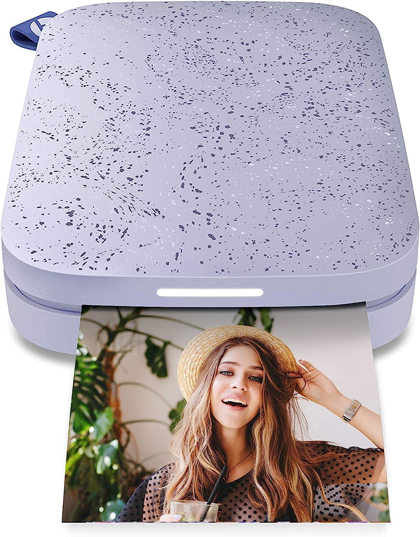 Impresora Instantanea HP Sprocket con 10 films (Lila)