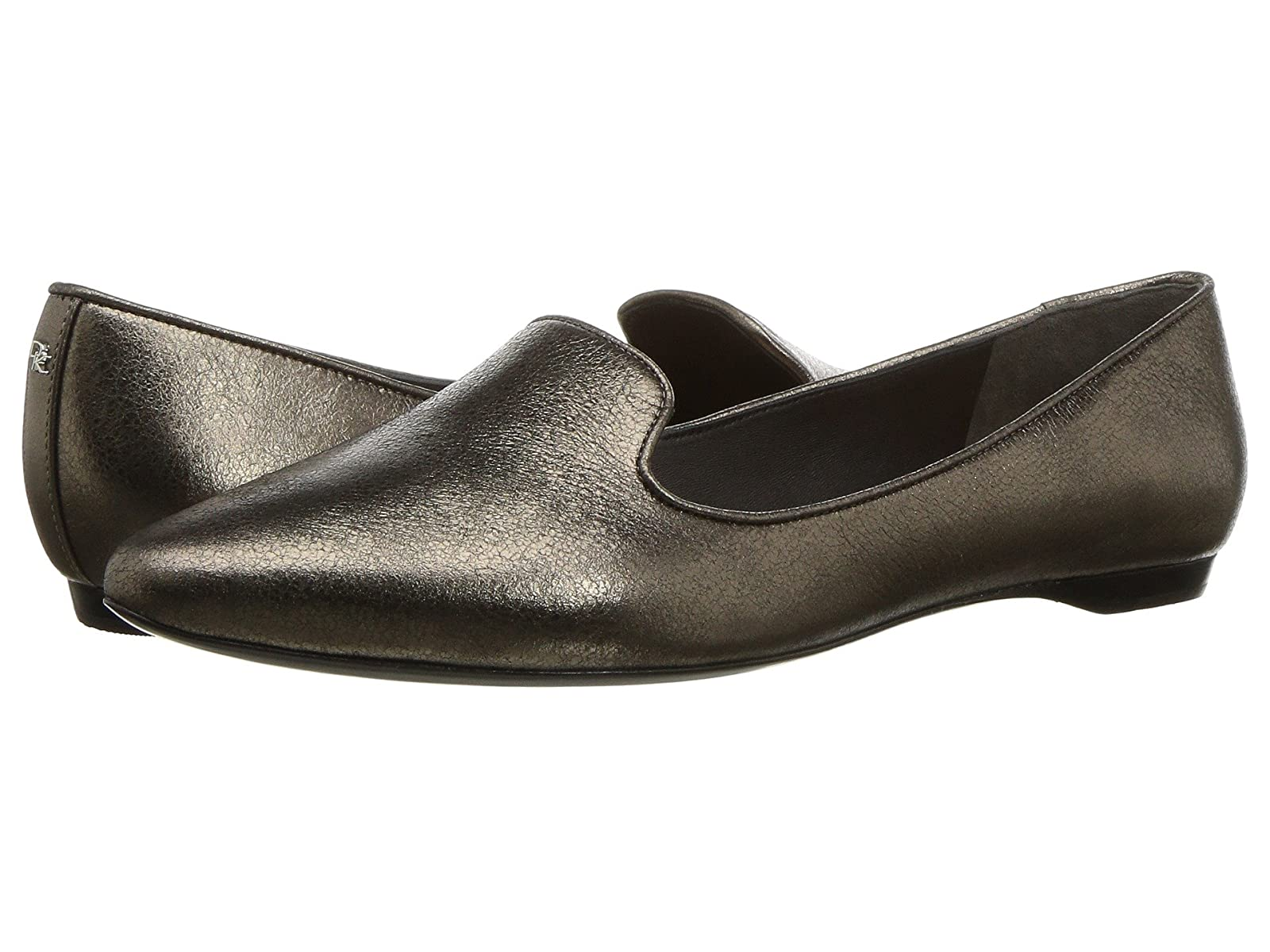 Donna Karan Gold LoaferCheap and distinctive eye-catching shoes