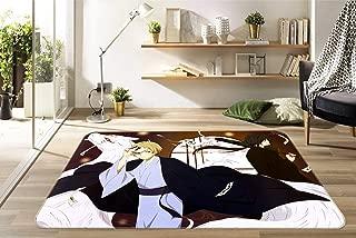 3D Natsume Yuujinchou 635 Japan Anime Game Non Slip Rug Room Mat Round Quality Elegant Carpet US AJ WALLPAPER Zoe (H160cmxW240cm【63