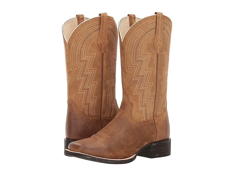 Ariat Round Up Waylon (Old West Tan) Cowboy Boots