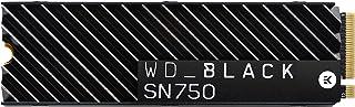WD_BLACK SN750 2 TB wysokowydajny wewnętrzny dysk SSD NVMe, z radiatorem