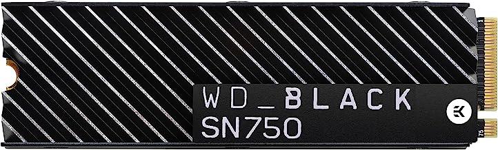 WD Black SN750 2TB NVMe SSD بازی داخلی با Heatsink - Gen3 PCIe، M.2 2280، 3D NAND - WDS200T3XHC